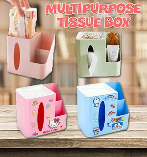 Multipurpose Tissue Box