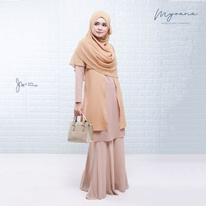 MYRANA ENTHUSIASTIC LIFESTYLE BLOUSE (GOLDEN SAND)