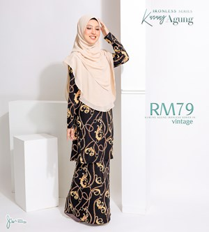 KURUNG AGUNG IRONLESS IN VINTAGE