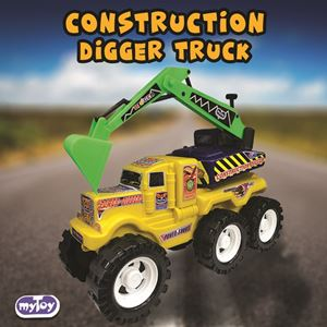 CONSTRUCTION DIGGER TRUCK