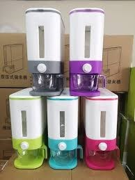 12KG Automatic Rice Dispenser with Rinsing Cup