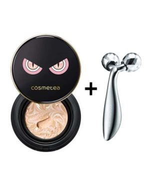 Cosmetea EE Cream Cushion + FREE Face Lifting Roller