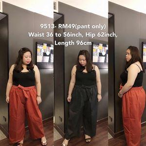 9513 Ready Stock *Waist 36 to 56 inch/ 91-142cm