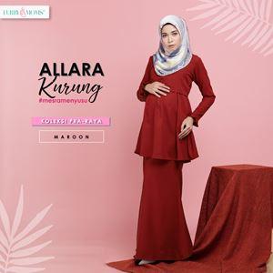 Alarra Kurung - Maroon (Pre Order : 3nd Batch)