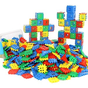 CHILDREN HOUSE BUILDING BLOCK 100PCS