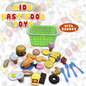KIDS FAST FOOD TOYS