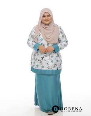 Kurung CHANTEQ Turquoise
