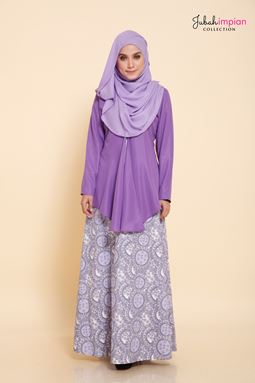 JUBAH ISABELLE (LILAC )