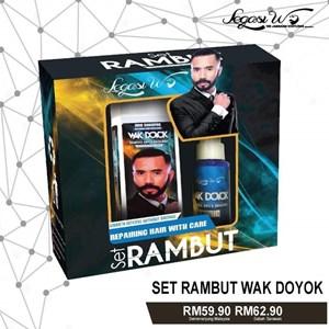 SET RAMBUT (SHAMPOO & TONIC) WAK DOYOK