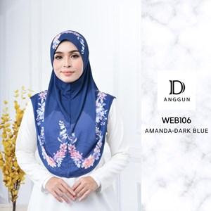 WEB106 AMANDA DARK BLUE