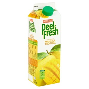 MARIGOLD PEEL FRESH LESS SUGAR 1L - MANGGO