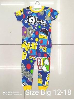 Pyjamas DIDI AND FRIENDS with POLKA  :  Big Size 12 -18