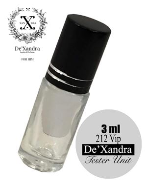 212 VIP Men - De'Xandra Tester 3ml