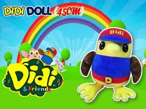 DIDI & FRIENDS PLUSH TOY (45CM) N00995
