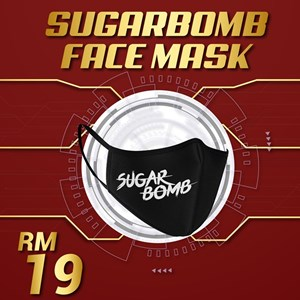 SUGARBOMB FACE MASK (RED TAG)