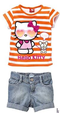 @  G013/14 GAP Kitty Top + Short