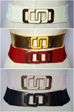 BLT44 - Plussize Stretch Buckle Belt