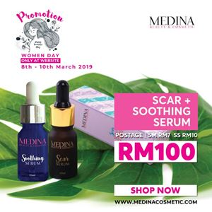 Soothing Serum and Scar Removal Serum