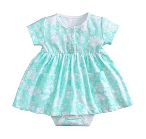 FLOWER TIFFANY BABY DRESS