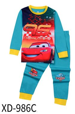 XD-986C 'Cars' KIDS PYJAMAS