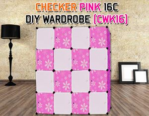 CHECKER 16C DIY WARDROBE (CWK16)