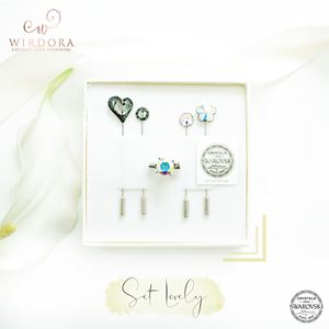 Set Lovely Mix Silver Night AB