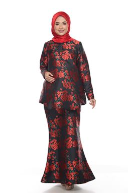 Sri Menannti Kurung Exclusive - Black