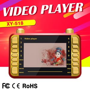 4.3 inc MP4 video player ready ( with 8G memory card )