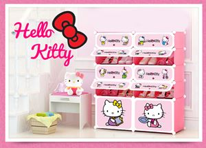 Hello Kitty 10c ShoeRack (HK10SR)
