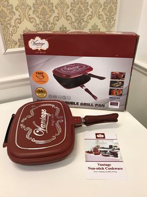 34CM DOUBLE GRILL PAN
