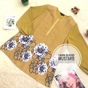 Laura Blouse Mustard