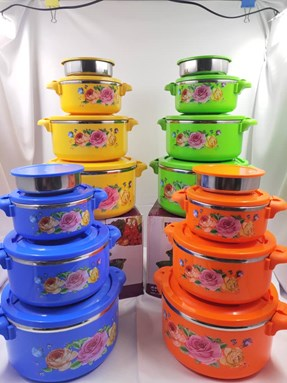 4 PCS HOT POT (THERMO CONTAINER)