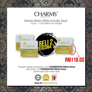 CHARMS FOUNDATION WHITE FAIRY BUY 2 FREE 1