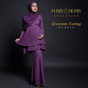 Yassmine Kurung - Purple