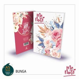 BUKU NOTA #MeNote Design Bunga