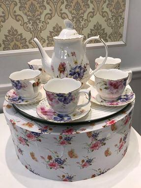 17PCS TEA SET EXCLUSIVE (FAIRYTALE)