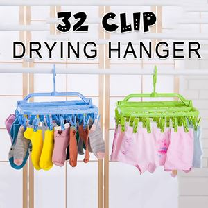32 Clip Drying Hanger