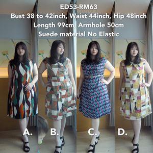 ED53 *Bust 38-42inch/ 96-107cm