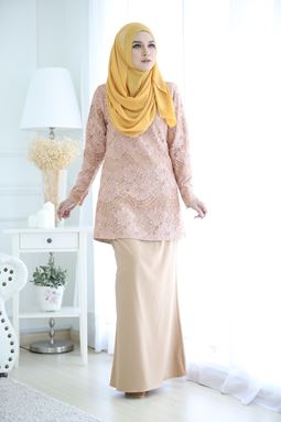 AULIYA LACE - GOLDEN BROWN
