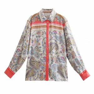 ZARA INSPIRED PAISLEY PRINTS TOP
