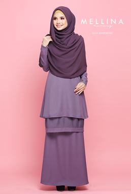 MELLINA STYLISH KURUNG 💕 02 (FABULOUS PURPLE)