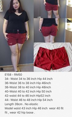 E158  Ready stock *Waist 34 to 48 inch