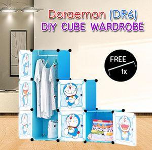 Doraemon 6C DIY WARDROBE (DR6)
