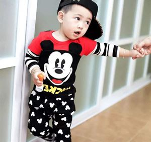 @  MICKEY RED SET ( SIZE 80-110 )
