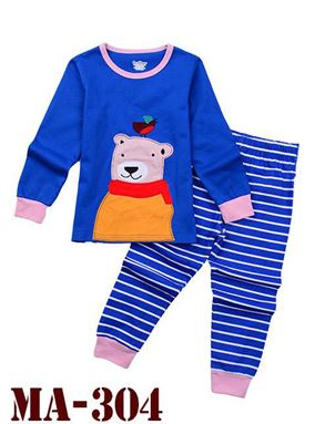 MA-304 'Little Bear' Pyjama (2 - 7 tahun)