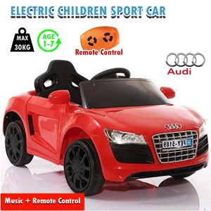 Electric Children Ride On AUDI Sport Car s Remote Rechargeable