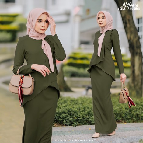NAFEESA BELLA  ARMY GREEN