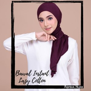 BAWAL INSTANT LAZY COTTON - LELONG