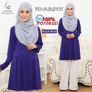 Bella Blouse : Royal Blue