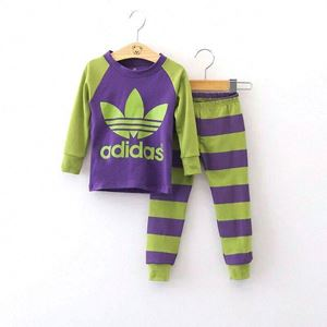 Adidas Pyjamas - Purple Green - Big